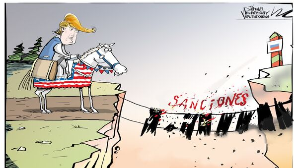 Trump y las sanciones - Sputnik Mundo
