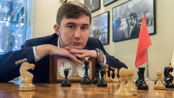 Открытие Центрального дома шахматиста на Гоголевском бульваре в Москве - Sputnik Mundo