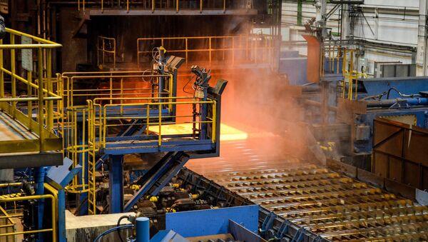 Producción de las tuberías para el gasoducto Turk Stream - Sputnik Mundo