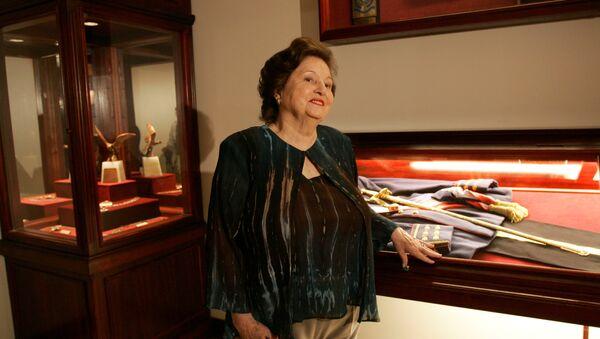 Lucía Hiriart, viuda del dictador chileno Augusto Pinochet (archivo) - Sputnik Mundo