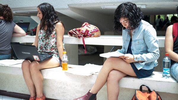 Estudiantes chilenos - Sputnik Mundo