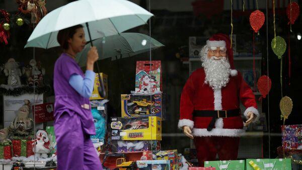 Celebración de Navidad y Año Nuevo en Venezuela - Sputnik Mundo