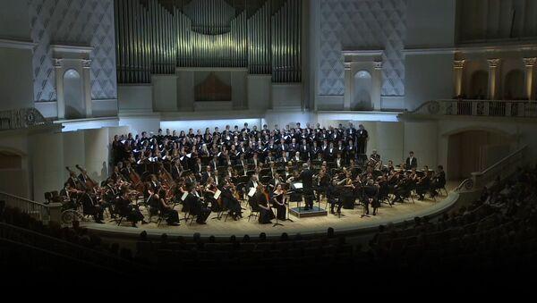 El Teatro Mariinski interpreta el 'Réquiem' de Verdi en memoria de los fallecidos en el Tu-154 - Sputnik Mundo