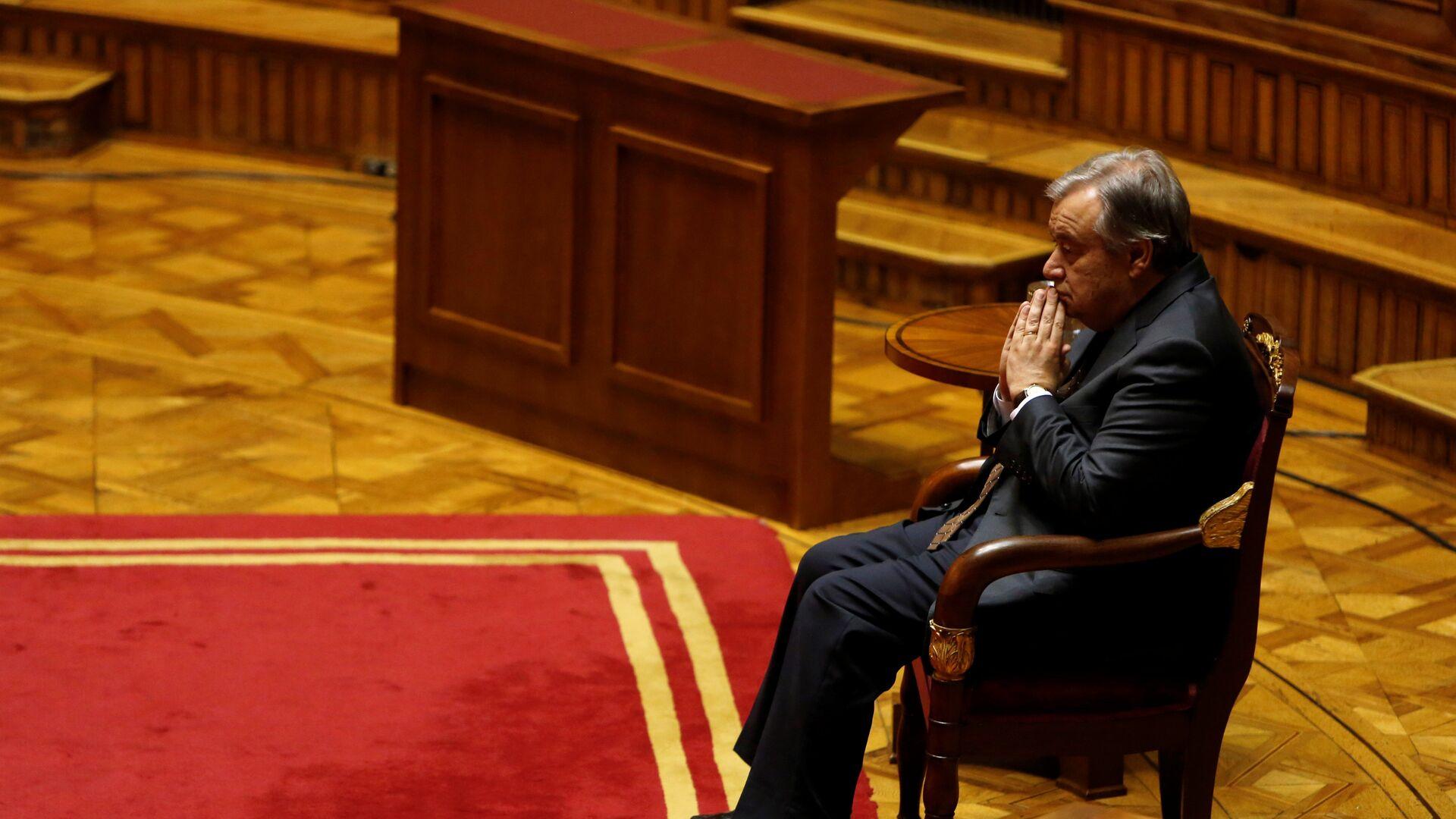 António Guterres, secretario general de la ONU - Sputnik Mundo, 1920, 11.05.2021