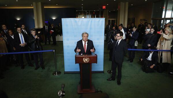 António Guterres, secretario general electo de la ONU - Sputnik Mundo