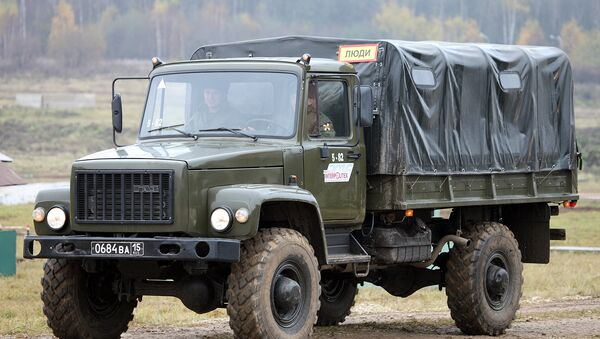 El GAZ-3308 'Sadko' - Sputnik Mundo
