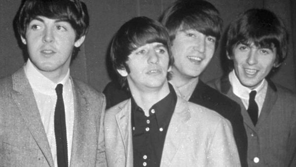 The Beatles, from left, Paul McCartney, Ringo Starr, John Lennon and George Harrison, are shown in this November 1963 photo. - Sputnik Mundo