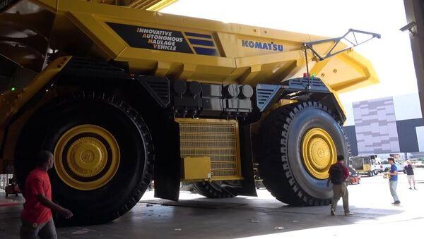 Robotic truck - Sputnik Mundo