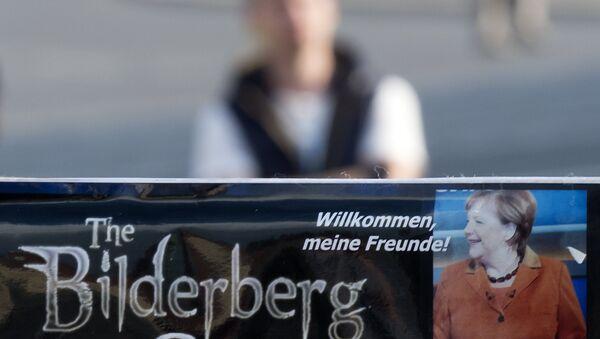 GERMANY PROTESTS BILDERBERG CONFERENCE - Sputnik Mundo