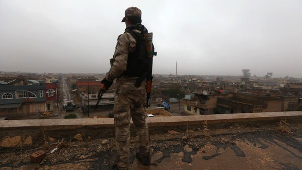 Soldados iraquíes - Sputnik Mundo