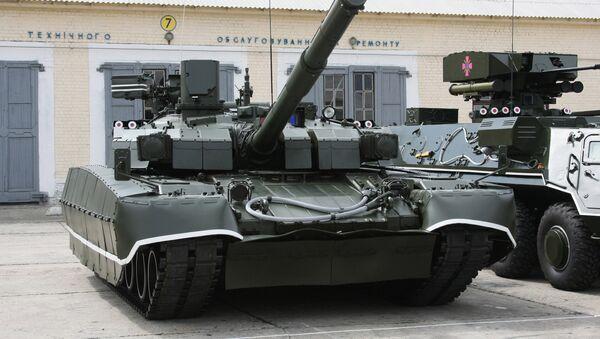 Tanque Oplot de las Fuerzas Armadas de Ucrania - Sputnik Mundo