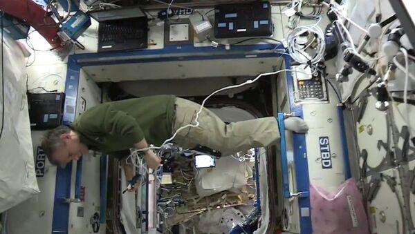 #Mannequin Challenge en estado de ingravidez - Sputnik Mundo