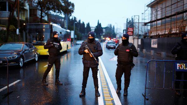 Las fuerzas de seguridad turcas (archivo) - Sputnik Mundo
