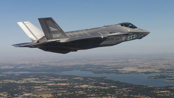 Caza de quinta generación estadounidense F-35 - Sputnik Mundo