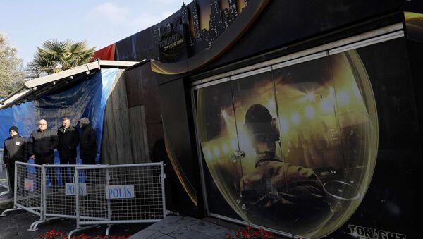 El club nocturno Reina en Estambul, donde fue perpetrado un acto terrorista - Sputnik Mundo