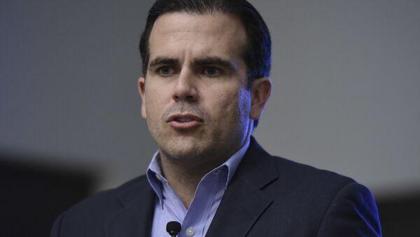 Ricardo Rosselló, el gobernador de Puerto Rico - Sputnik Mundo