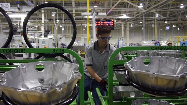 Una planta de General Motors en México - Sputnik Mundo