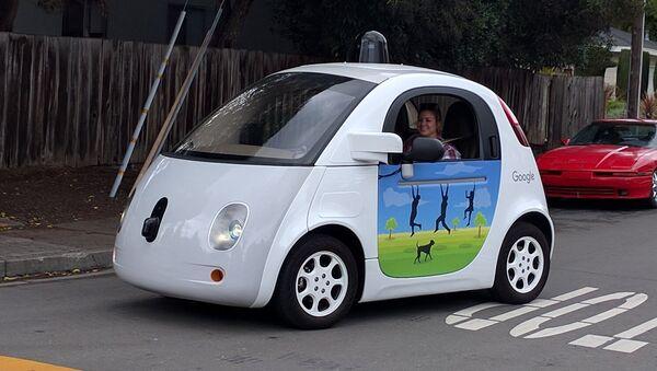 Vehículo autónomo de Google - Sputnik Mundo
