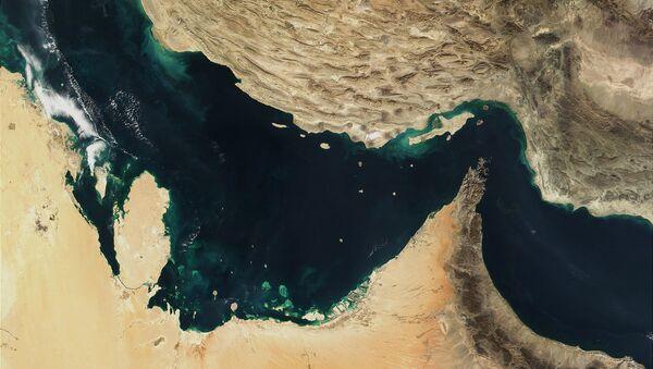 Mapa del golfo Pérsico  - Sputnik Mundo