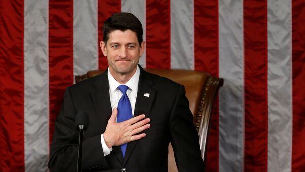 Paul Ryan, presidente de la Cámara de Representantes - Sputnik Mundo