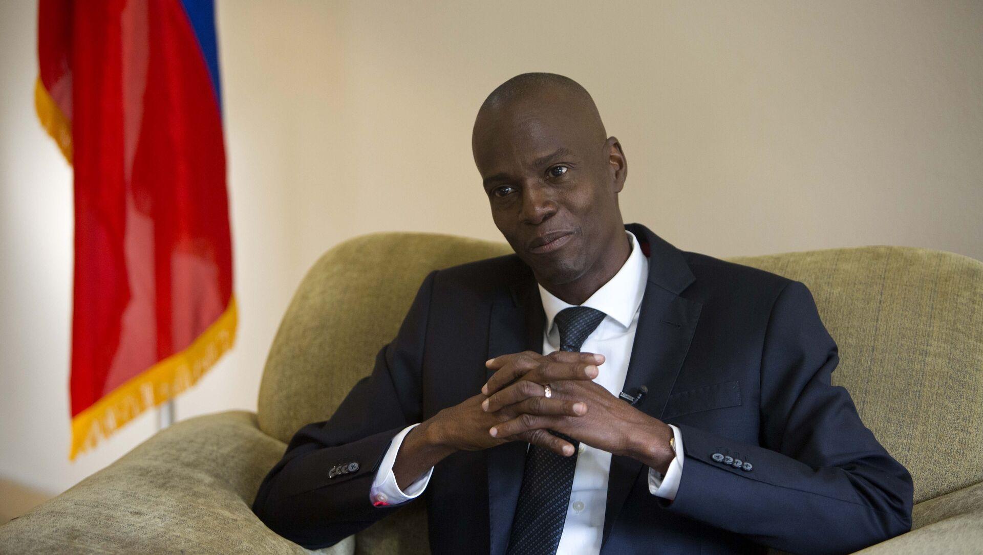 Jovenel Moise, presidente de Haití (archivo) - Sputnik Mundo, 1920, 07.02.2021