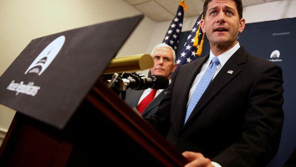 Paul Ryan, presidente de la Cámara de Representantes de Estados Unidos - Sputnik Mundo