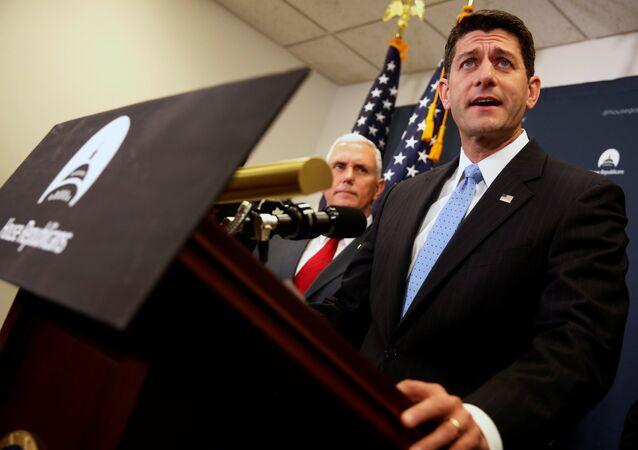 Paul Ryan, presidente de la Cámara de Representantes de Estados Unidos