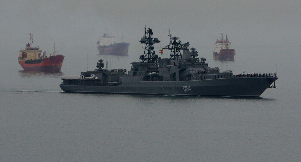 Buque antisubmarino (Archivo)
