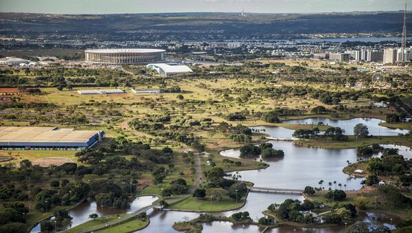 El Parque de la Ciudad de Brasilia es uno de los más grandes de América Latina, con 420 hectáreas - Sputnik Mundo