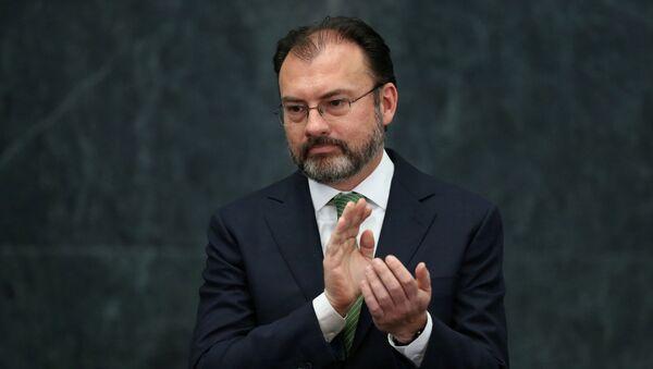 Luis Videgaray, canciller de México - Sputnik Mundo