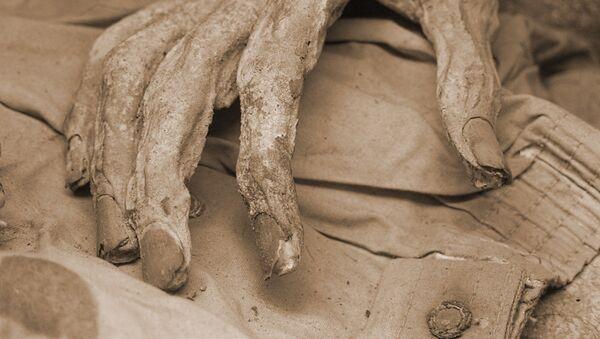 Mano de una momia en Guanajuato, México (imagen referencial) - Sputnik Mundo