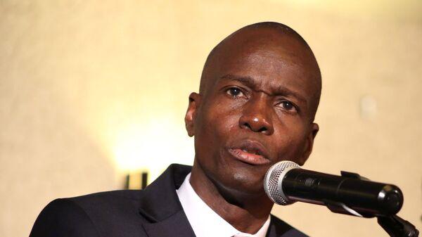 Jovenel Moise, presidente de Haití - Sputnik Mundo