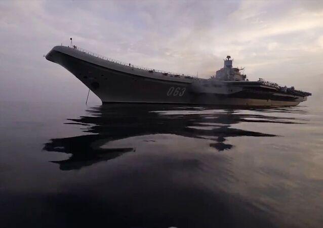 Almirante Kuznetsov, crucero portaviones de la Armada de Rusia