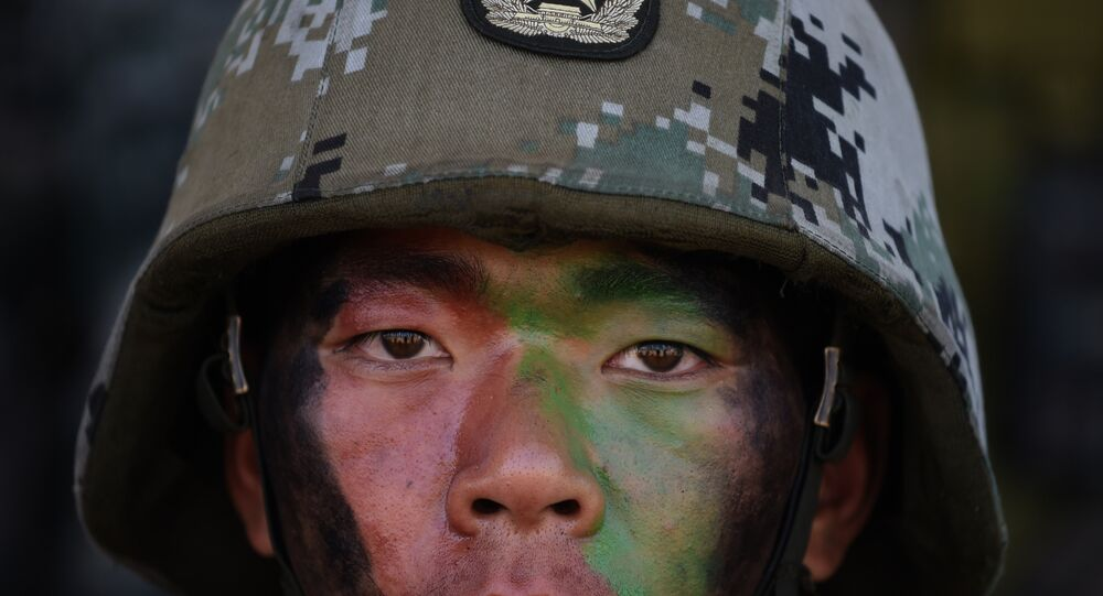 Soldado del Ejército de China (archivo)