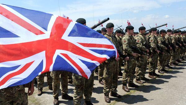 Militares británicos - Sputnik Mundo