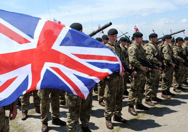 Los militares británicos (archivo)