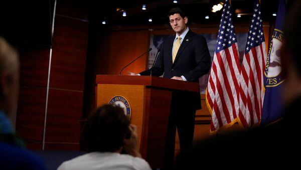Paul Ryan, presidente de la Cámara de Representantes del Congreso estadounidense - Sputnik Mundo