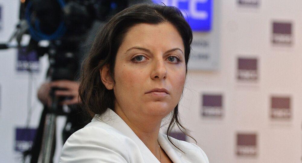Margarita Simonián, directora de Sputnik (archivo)