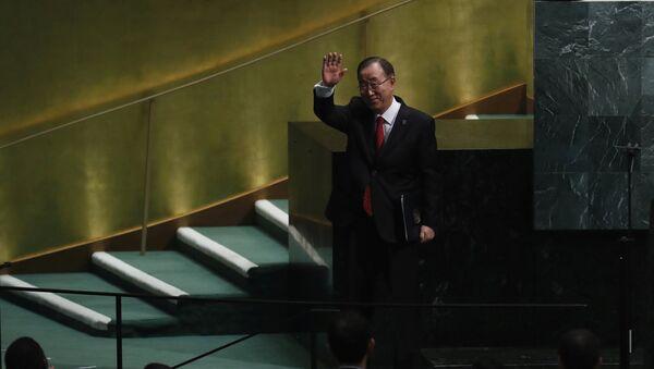 Ban Ki-moon, exsecretario general de la ONU - Sputnik Mundo