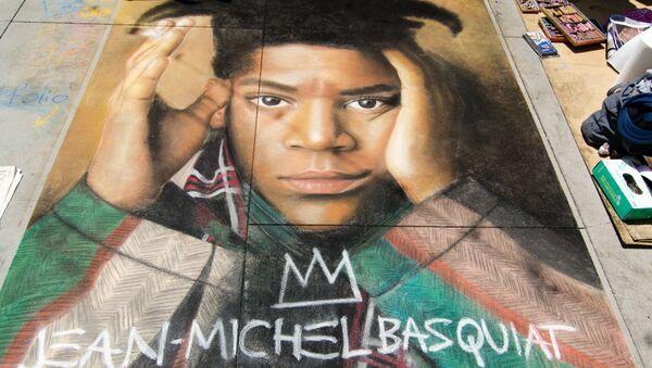 Retrato de Jean-Michel Basquiat - Sputnik Mundo