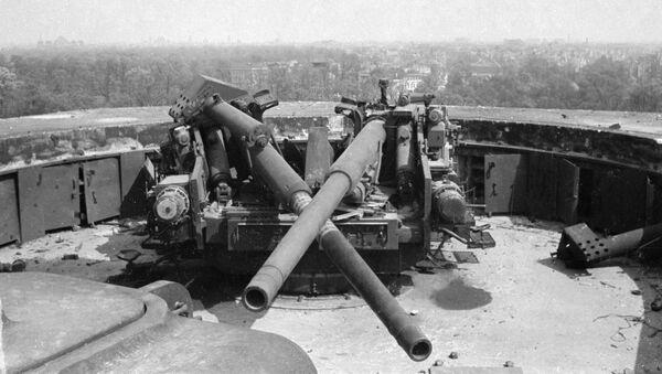 Cañones antiaéreos de la Alemania nazi (archivo) - Sputnik Mundo