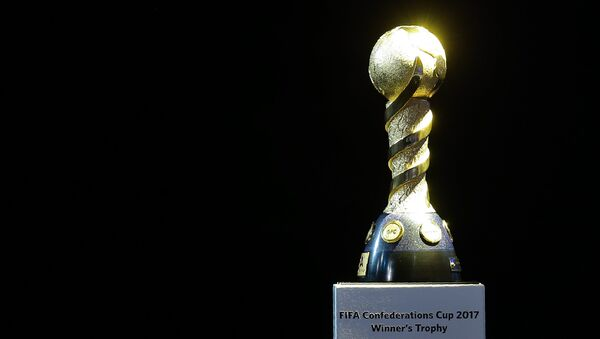 El trofeo de la Copa Confederaciones 2017 - Sputnik Mundo