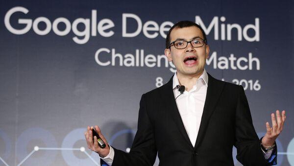 Demis Hassabis, lider del proyecto Google DeepMind - Sputnik Mundo