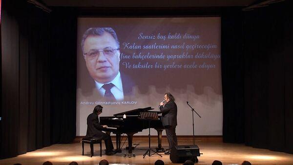 Ankara rinde homenaje al embajador ruso asesinado - Sputnik Mundo