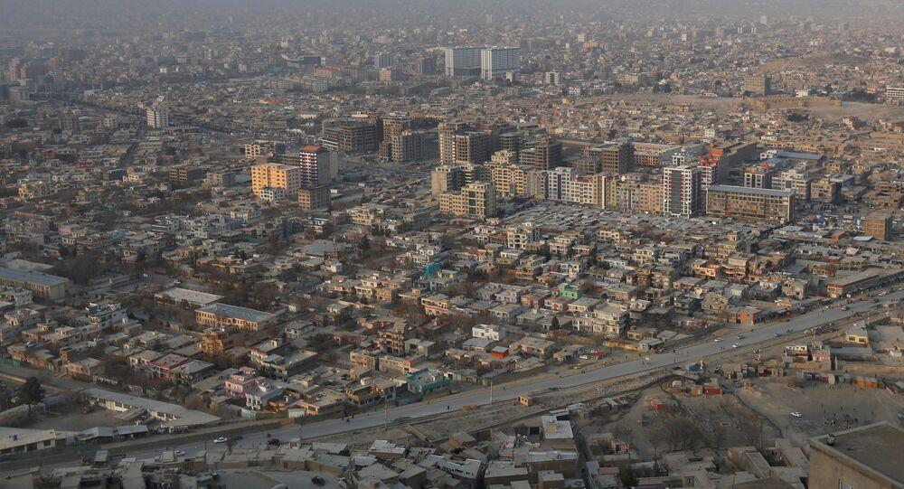 La ciudad de Kabul, Afganistán