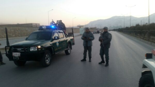 Policía afgana en Kabul (archivo) - Sputnik Mundo