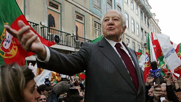 Mário Soares, expresidente de Portugal - Sputnik Mundo