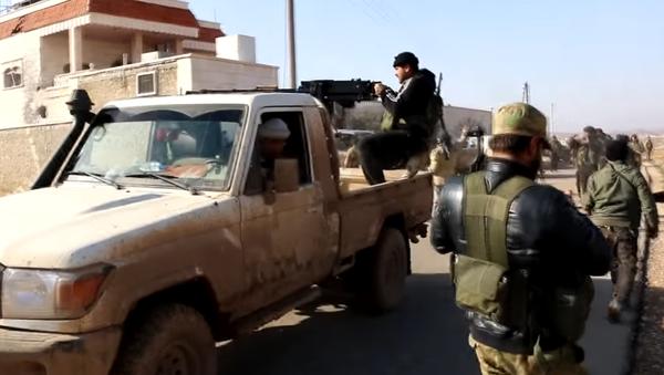 Vídeo: armas turcas para los rebeldes sirios - Sputnik Mundo