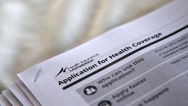 Formularios para solicitar la cobertura de salud (´Obamacare´) - Sputnik Mundo