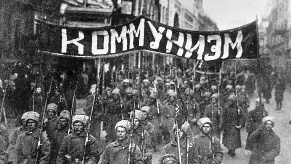 La revolución de octubre de 1917 en Rusia - Sputnik Mundo